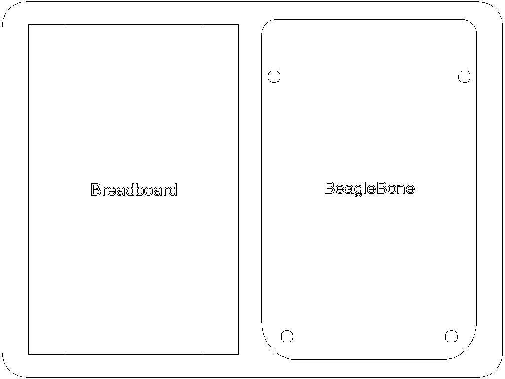 beaglebone_sled_display_large.jpg Download free STL file BeagleBone Sled • 3D printable design, Gaygwenn