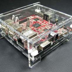 Download free 3D model BeagleBoard-xM Enclosure, Gaygwenn