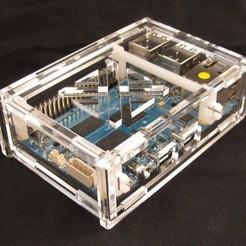Download free 3D printer files Odroid C1/3.2inch TFT+Touchscreen Shield Case, Gaygwenn