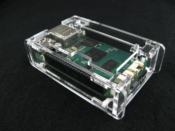 bbgassembled3.jpg Download free STL file BeagleBone Green Low Profile Case • 3D printer object, Gaygwenn