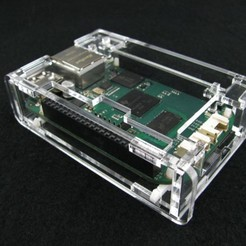 Download free 3D model BeagleBone Green Low Profile Case, Gaygwenn