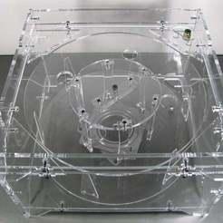 Download free 3D printing designs Crystal Filament Spindle v1.1, Gaygwenn
