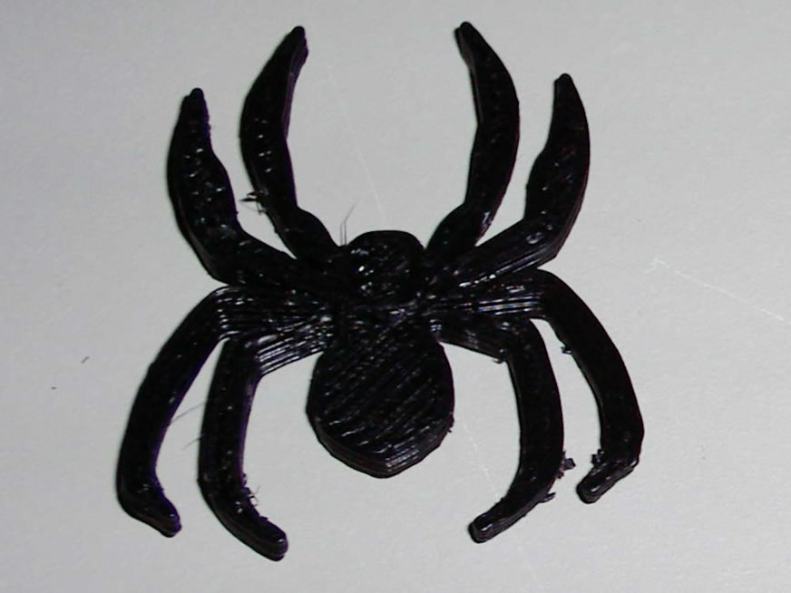 spider.jpg Download free STL file Spider Plus Ring • Object to 3D print, Gaygwenn