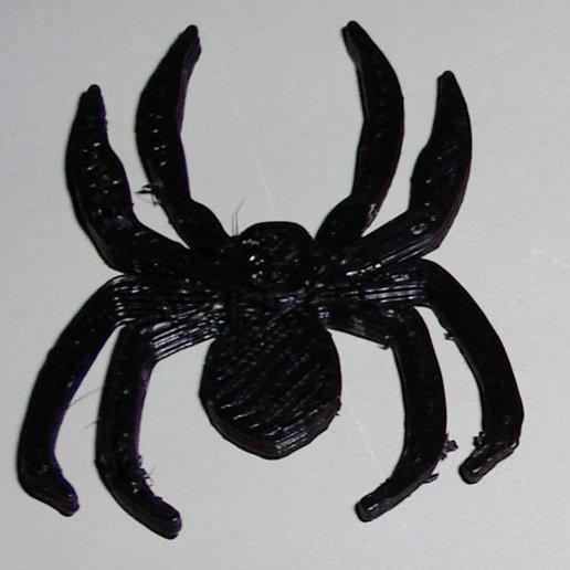 spider.jpg Télécharger fichier STL gratuit Bague Araignée Plus • Plan à imprimer en 3D, Gaygwenn
