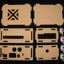 Download free 3D printer templates ODROID C1+ HiFi Shield Case, Gaygwenn
