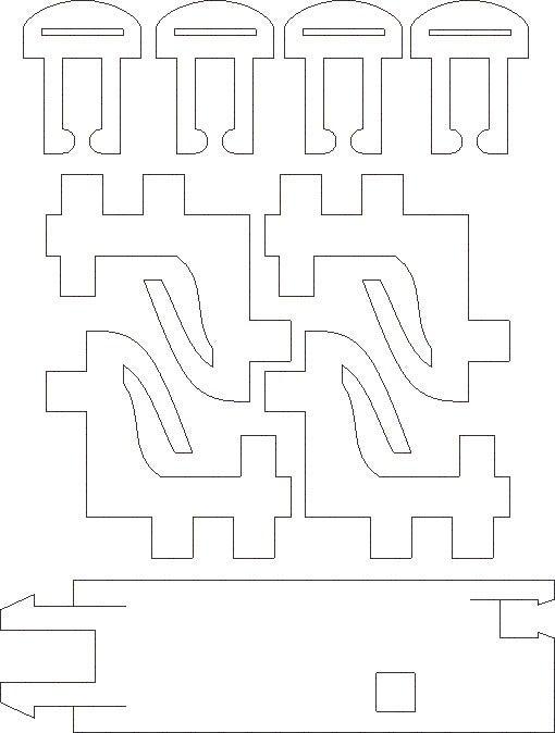 APC-Rock-1-8th-Delrin.jpg Download free STL file APC Rock Case • 3D print object, Gaygwenn