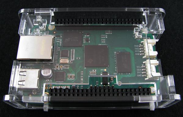 bbgassembled5.jpg Download free STL file BeagleBone Green Low Profile Case • 3D printer object, Gaygwenn
