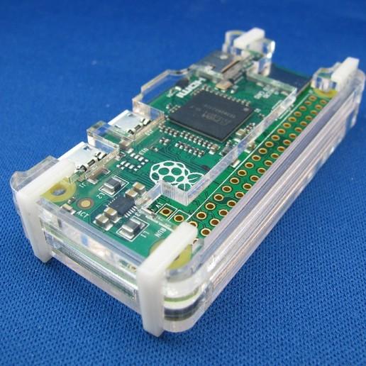 Download free STL Raspberry Pi Zero Case, Gaygwenn