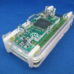 Télécharger fichier imprimante 3D gratuit Coffret Pi Zéro Framboise, Gaygwenn