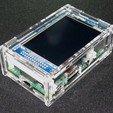 """Download free 3D printer files Raspberry Pi A+/B+ 2.8"""" PiTFT Case, Gaygwenn"""