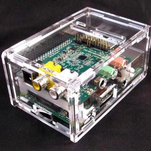 IMG_4547.JPG Télécharger fichier STL gratuit Porte-cartes audio Raspberry Pi B+ Cirrus Logic • Modèle pour imprimante 3D, Gaygwenn