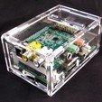 Download free 3D printer files Raspberry Pi B+ Cirrus Logic Audio Card Case, Gaygwenn