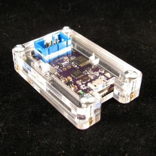 Télécharger modèle 3D gratuit Étui USB µISP, Gaygwenn