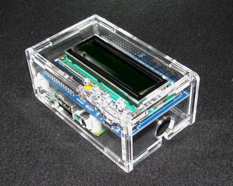 IMG_4913.JPG Download free STL file Raspberry Pi A+/B+ Adafruit LCD Case • 3D print template, Gaygwenn