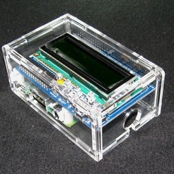 Download free 3D printer model Raspberry Pi A+/B+ Adafruit LCD Case, Gaygwenn