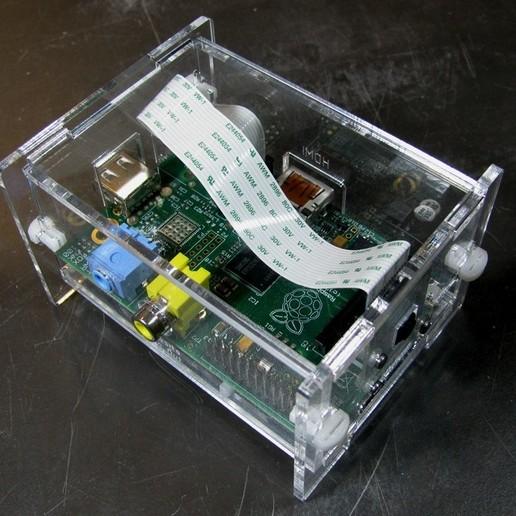 IMG_4027.jpg Télécharger fichier STL gratuit Étui pour appareil photo Raspberry Pi • Objet à imprimer en 3D, Gaygwenn