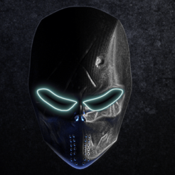 Download 3D printer files 3D printable mask, hatzgoura