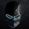 Impresiones 3D Máscara imprimible en 3D, hatzgoura