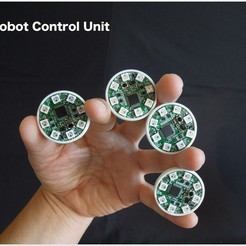 Download free 3D printing designs Robot Control Unit, choimoni