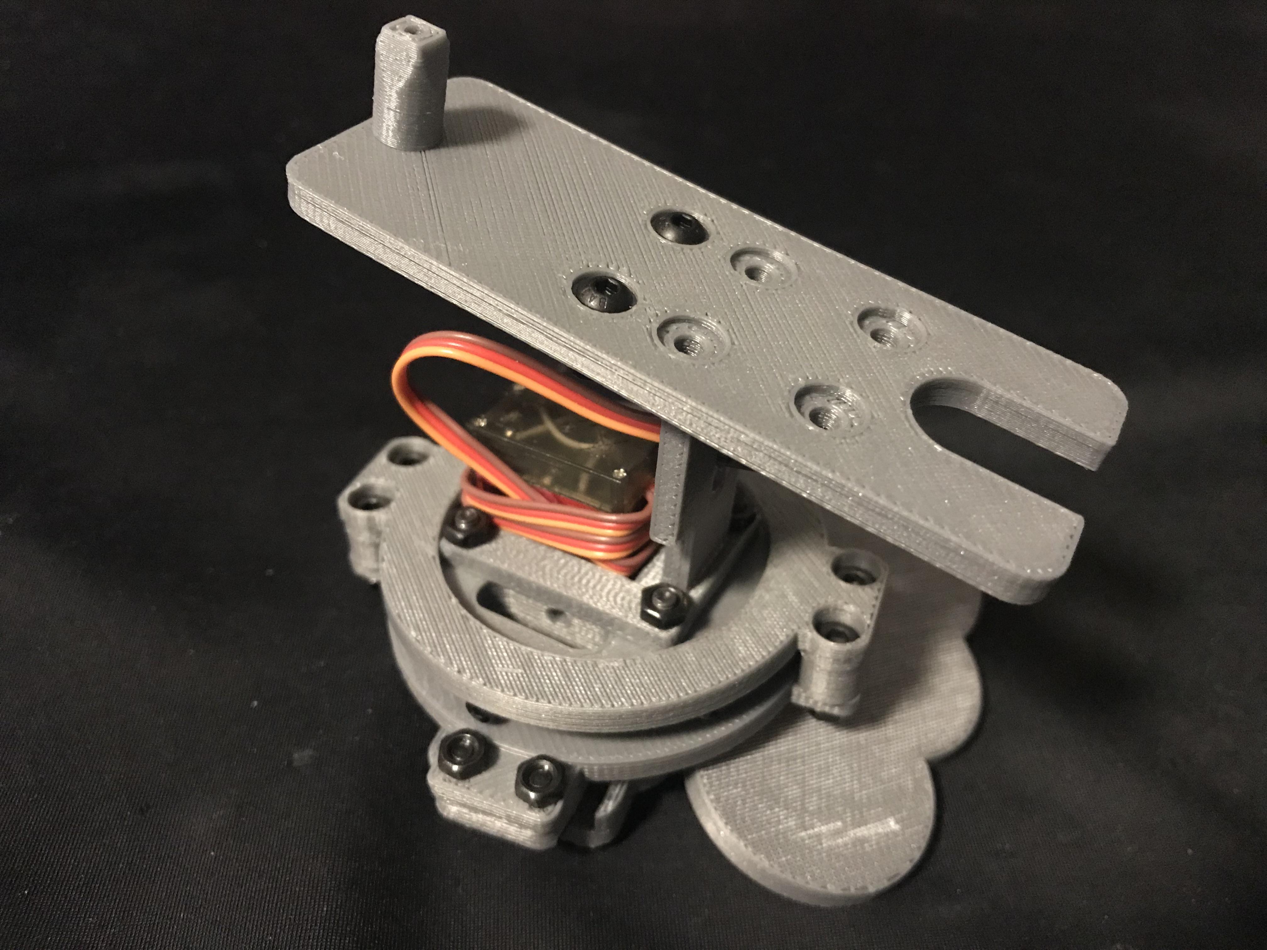 IMG_4454.jpg Descargar archivo STL gratis Plataforma giratoria de robot • Plan para la impresión en 3D, choimoni