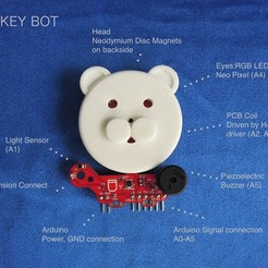 Download free STL file Companion Robot for Arduino, choimoni