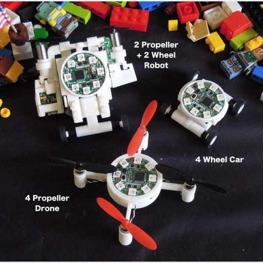 brothers.jpg Télécharger fichier STL gratuit Unité de commande du robot • Plan pour impression 3D, choimoni