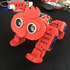 IMG_3358.jpg Download free STL file 4-Legged Walking Robot #2 • 3D printing object, choimoni