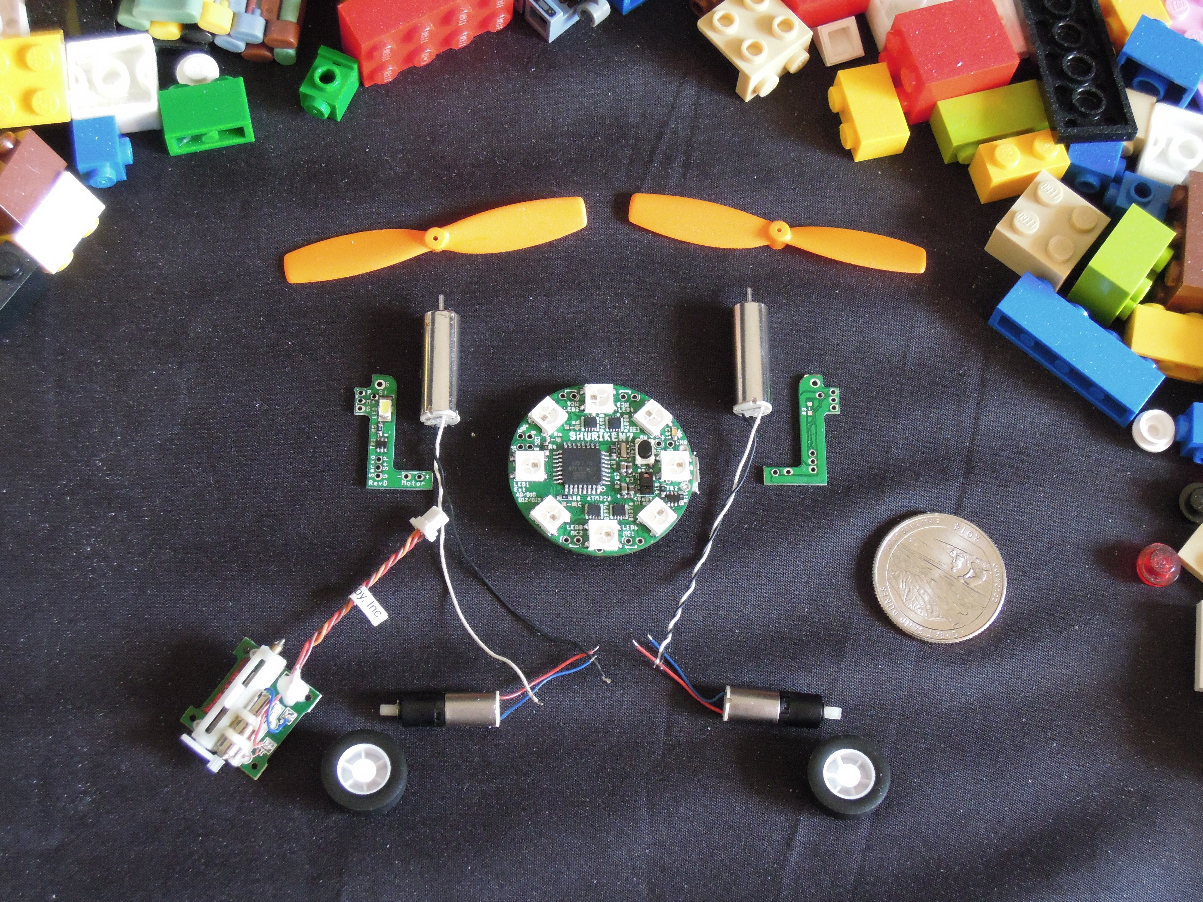 DSCN6463.JPG Download free STL file Small Humanoid Robot • 3D printable design, choimoni