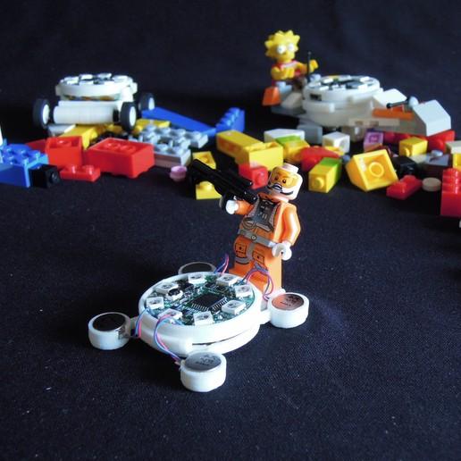 Download free 3D printer designs Hovercraft like vibrating car, choimoni