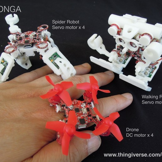 Download free 3D printer model Momonga 2, choimoni