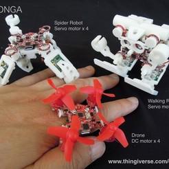 Descargar modelos 3D gratis Momonga 2, choimoni