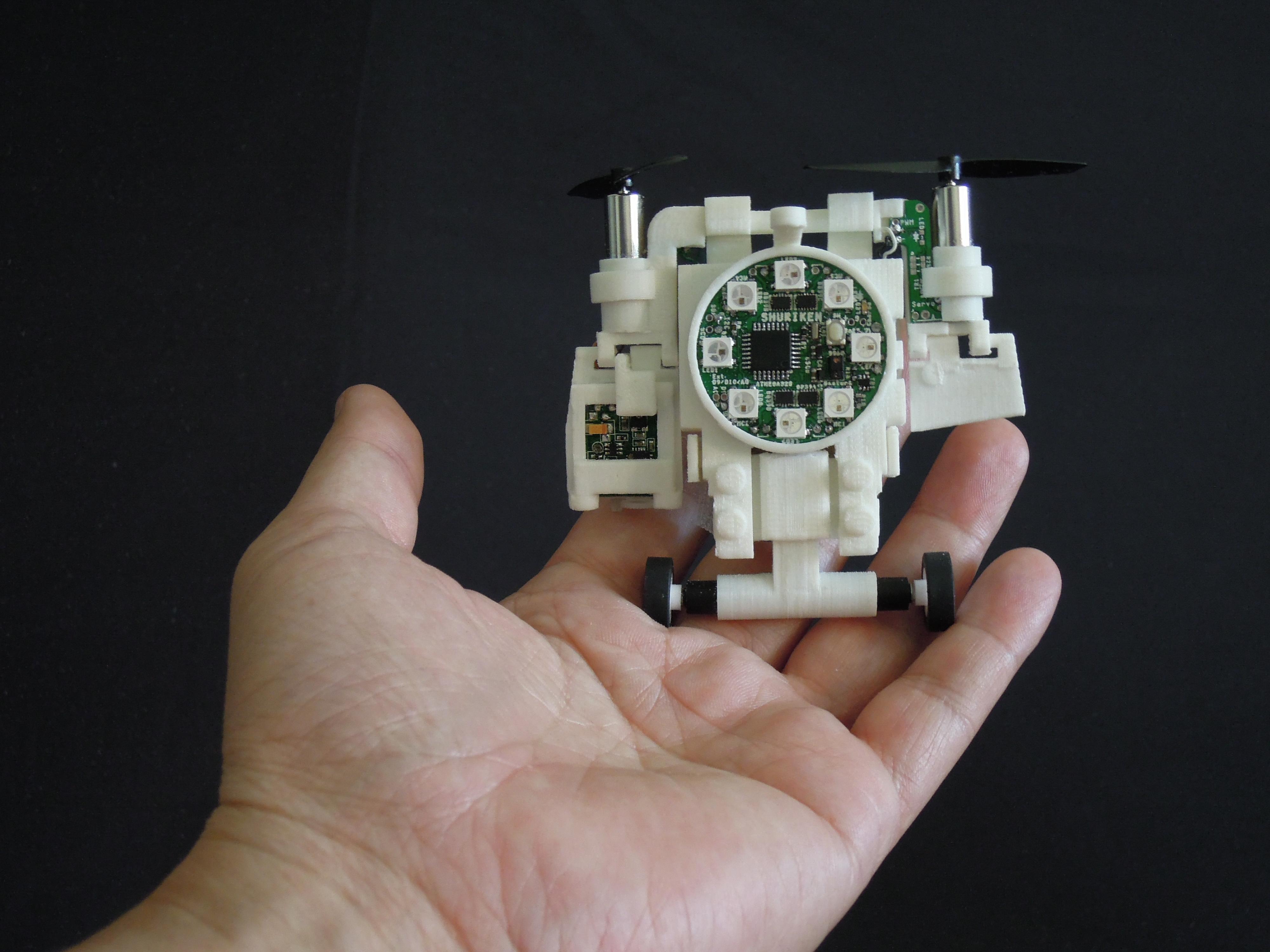 WSHR.JPG Download free STL file Small Humanoid Robot • 3D printable design, choimoni