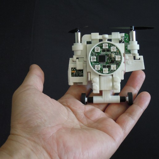 Download free 3D printer files Small Humanoid Robot, choimoni