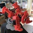 IMG_4446.jpg Descargar archivo STL gratis Plataforma giratoria de robot • Plan para la impresión en 3D, choimoni