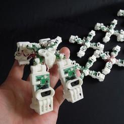 "Download free 3D printer templates ""MOMONGA II"" Dog stile body, choimoni"