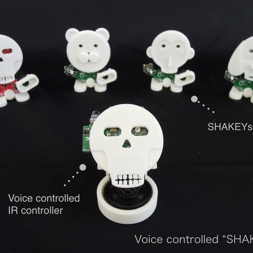 Descargar archivo STL gratis SHAKEYs Controlados por Voz • Modelo para la impresión en 3D, choimoni