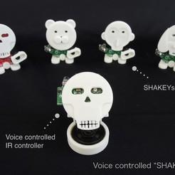 momongaE2.001.jpeg Descargar archivo STL gratis SHAKEYs Controlados por Voz • Modelo para la impresión en 3D, choimoni