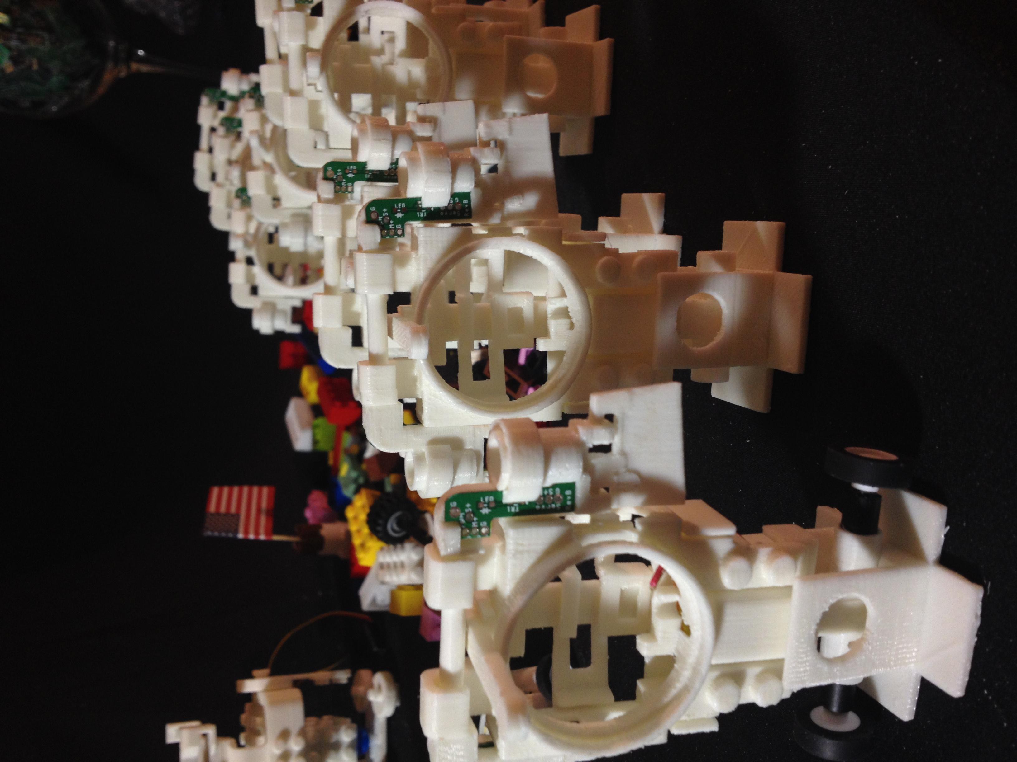 IMG_4163.JPG Download free STL file Small Humanoid Robot • 3D printable design, choimoni