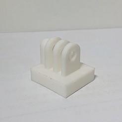 Descargar modelos 3D para imprimir adaptador de trípode gopro de 1/4 de pulgada, limewood