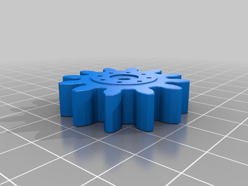 servo_gear.png Télécharger fichier STL gratuit RoboDog v1.0 • Modèle pour imprimante 3D, robolab19