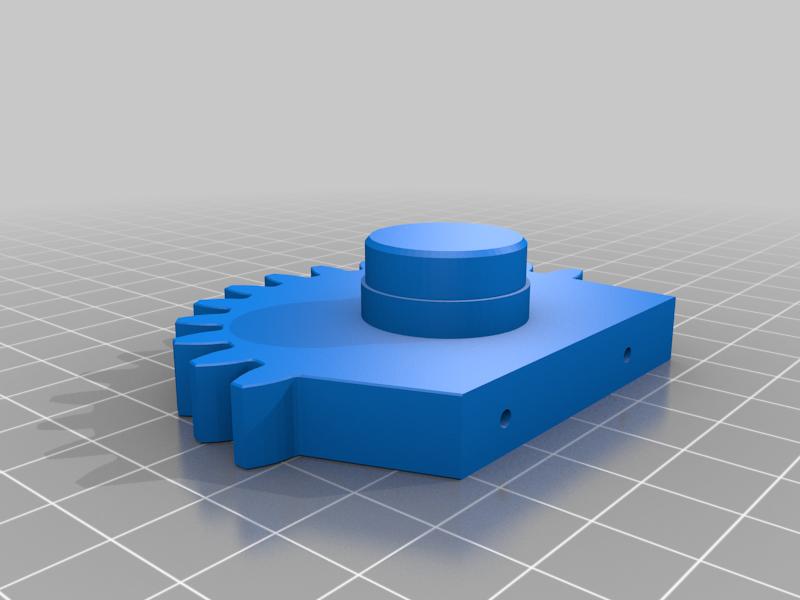 gear_leg_L.png Télécharger fichier STL gratuit RoboDog v1.0 • Modèle pour imprimante 3D, robolab19