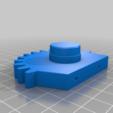 gear_leg_L.png Download free STL file RoboDog v1.0 • 3D printing object, robolab19