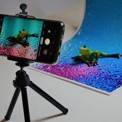 Télécharger fichier 3D gratuit Support réglable pour l'arrière-plan des photos Instagram, robolab19