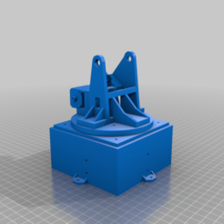 Download free 3D model Joint1 (base) and Joint2 parts for 6DOF Robot Arm, robolab19