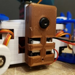Download free 3D printing designs M5Stack Camera Case (ESP32 wifi camera), robolab19