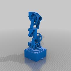 Télécharger fichier impression 3D gratuit Pièces Joint3 et Joint4 pour le bras robotique 6DOF, robolab19