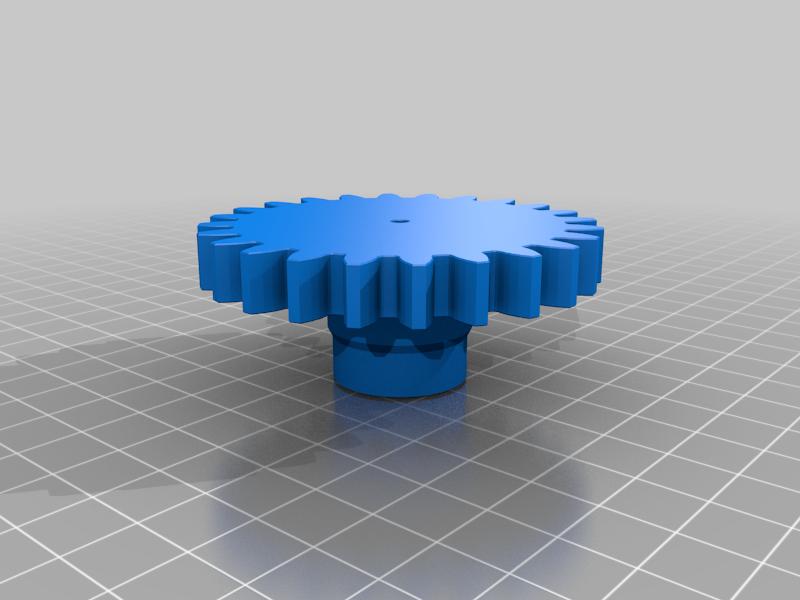 gear_base_leg.png Télécharger fichier STL gratuit RoboDog v1.0 • Modèle pour imprimante 3D, robolab19