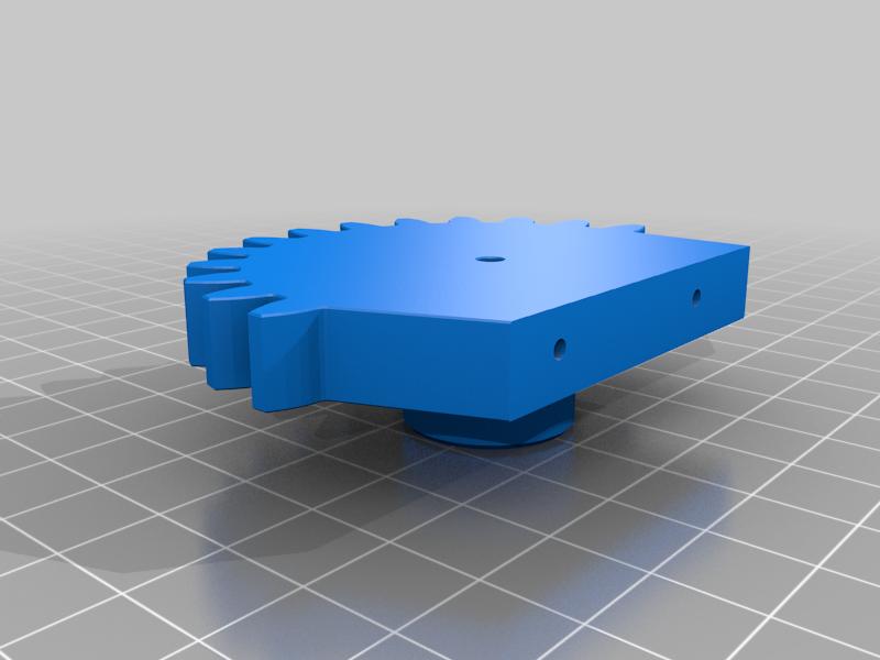 gear_leg_R.png Download free STL file RoboDog v1.0 • 3D printing object, robolab19