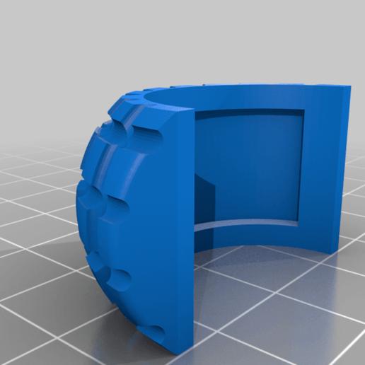 foot_rubber.png Télécharger fichier STL gratuit RoboDog v1.0 • Modèle pour imprimante 3D, robolab19