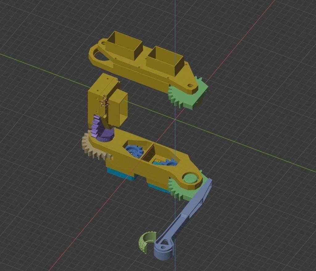 scheme_2.jpg Download free STL file RoboDog v1.0 • 3D printing object, robolab19